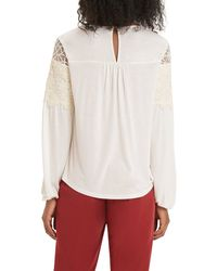 Oasis | White The Grace Top | Lyst
