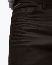 Zara | Black Slim Jeans for Men | Lyst