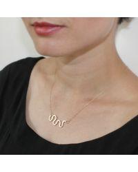 Dorota Todd   Metallic Loop Necklace   Lyst