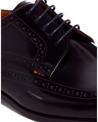 PS by Paul Smith - Black Macey Brogues for Men - Lyst