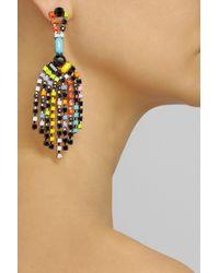 Tom Binns | Multicolor Colourful Chandelier Earrings | Lyst