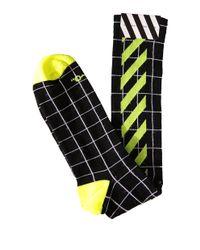 Off-White c/o Virgil Abloh - Green Cotton Socks - Lyst