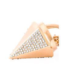 Vita Fede | Metallic Mini 'thea Crystal' Necklace | Lyst