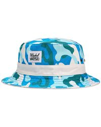 Wesc | Green Reversible Warhol Camo Bucket Hat for Men | Lyst