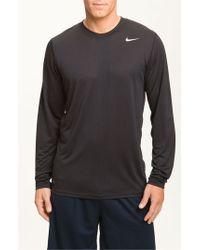 Nike | Black 'legend' Dri-fit Shirt for Men | Lyst