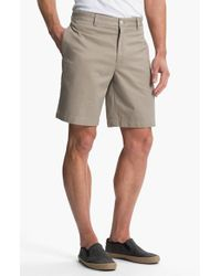 Vineyard Vines | Natural 'club' Classic Fit Twill Shorts for Men | Lyst