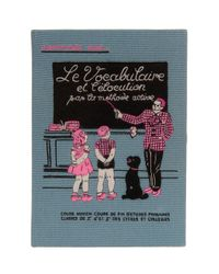 Olympia Le-Tan   Blue A Family Affair Book-clutch   Lyst