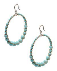Chan Luu - Blue Earrings - Lyst