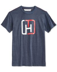 Tommy Hilfiger | Blue Lake Placid Graphic-print T-shirt for Men | Lyst