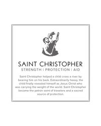 ALEX AND ANI - Metallic Saint Christopher Two Tone Expandable Wire Bangle Precious Metal Collection - Lyst