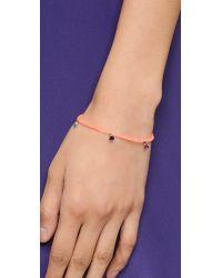 Shashi - Orange Neon Lilu Bracelet - Green - Lyst