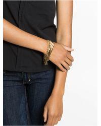 BaubleBar - Metallic Gold Tassel Bracelet - Lyst