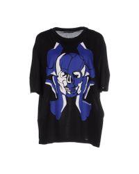Alexander McQueen - Black T-shirt - Lyst