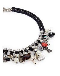 Venessa Arizaga | Black 'pandora's Box' Necklace | Lyst