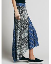 Free People - Brown Womens Show You Off Maxi - Lyst
