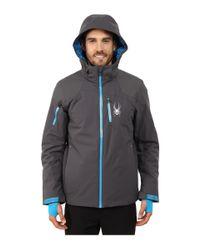 Spyder - Blue Squaw Valley Jacket for Men - Lyst