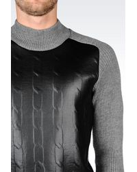 Emporio Armani | Black High Neck for Men | Lyst