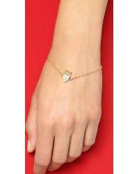 Kate Spade | Metallic Owl Bracelet - Clear | Lyst