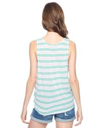 Splendid | Blue Cayman Stripe Tank | Lyst