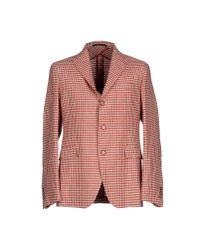 Tagliatore | Red Blazer for Men | Lyst