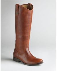 Frye | Brown Melissa Button Boots | Lyst