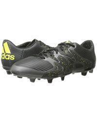 Adidas | Black X Low Fg/ag for Men | Lyst