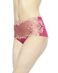 La Perla | Pink High-waisted Briefs | Lyst