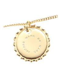 Marc By Marc Jacobs - Metallic Bottle Top Pendant Necklace - Lyst