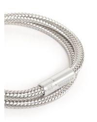 Tateossian | Metallic 'soho' Copper Double Wrap Bracelet for Men | Lyst