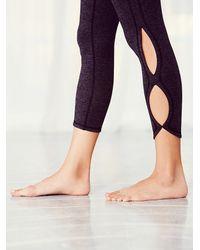 Free People - Black Infinity Legging Infinity Bra - Lyst