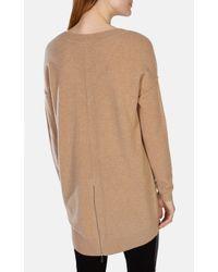 Karen Millen | Brown Ltd Edition Cashmere Tunic | Lyst