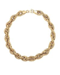 Lord & Taylor | Metallic 14kt Yellow Gold Bracelet | Lyst