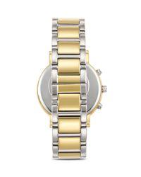 kate spade new york | Metallic Two Tone Gramercy Watch, 38mm | Lyst
