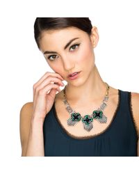 Lulu Frost | Green *new* Vaulted Necklace | Lyst