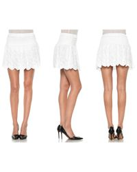 Joe's Jeans | White Ibiza Skirt | Lyst