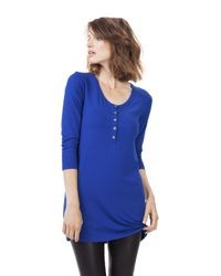 Baukjen Blue Nora Button Tunic