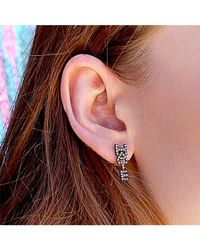 Adornia | Metallic Champagne Diamond Love Hate Stud Earring Set | Lyst
