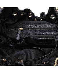 Michael Kors   Black Camden Lg Drawstring Bag   Lyst