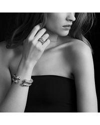 David Yurman - Green Bracelet With Prasiolite And Diamonds - Lyst