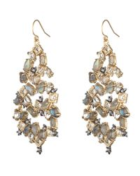Alexis Bittar | Metallic Confetti Spike Chandelier Earring You Might Also Like | Lyst
