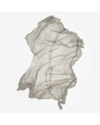 Raquel Allegra - Gray Full Shred Scarf - Lyst