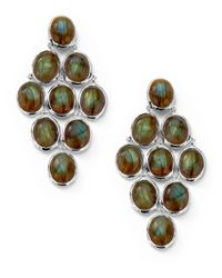 Ippolita | Brown Labradorite Cabochon Cascade Earrings | Lyst