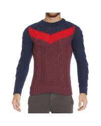 DIESEL - Blue Sweater for Men - Lyst