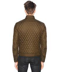 Belstaff - Green Bramley Quilted Nylon Jacket for Men - Lyst