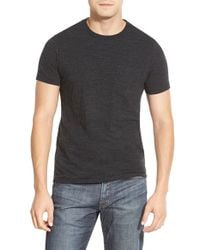 Bonobos | Black Double Face Jersey Pocket Crewneck T-shirt for Men | Lyst