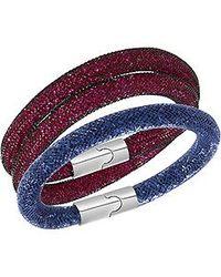 Swarovski | Multicolor Stardust Ee Bracelet Size Medium | Lyst