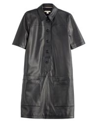 Burberry Brit | Araminta Leather Dress - Black | Lyst