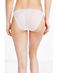 Urban Outfitters - White Joey Mesh String Bikini - Lyst