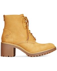 Timberland | Natural Women's Averly Booties | Lyst