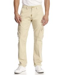 LRG | Natural Cargo Pants for Men | Lyst